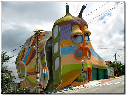 The Snail House in Sofia