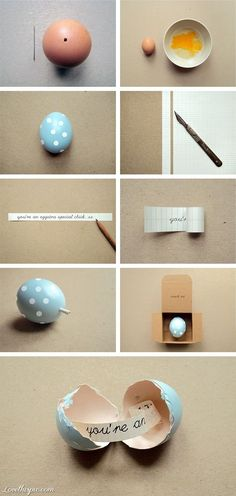 DIY Fortune Egg