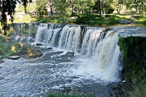 keila waterfalls Estonia