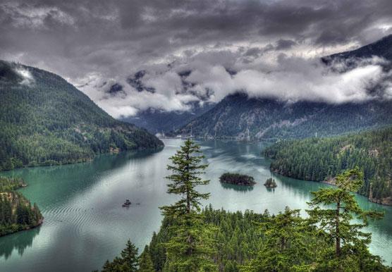 Diablo Lake in USA