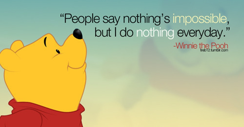 Winnie The Pooh Quotes: Life Lessons From Winnie The Pooh: Part 1