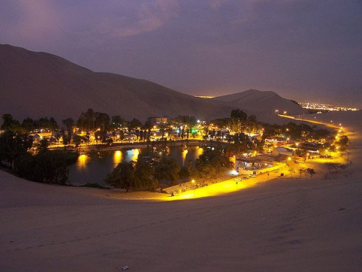 #4.1: The Huacachina Oasis in Peru