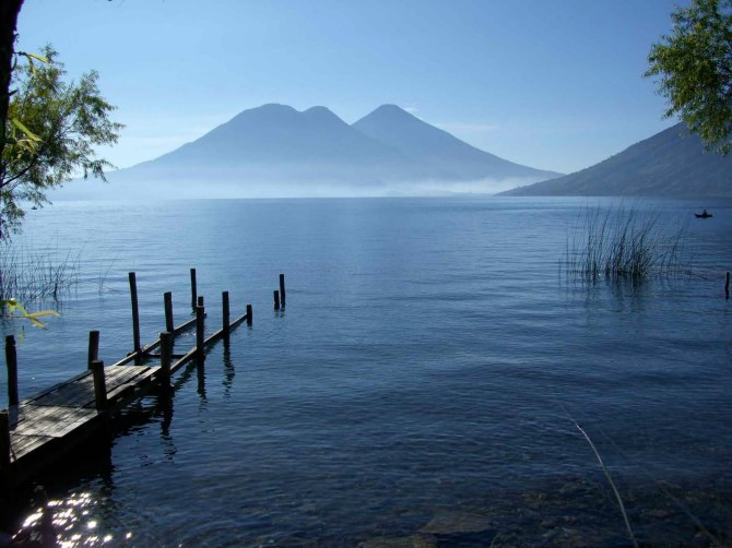 Lake Atitlan in Guatemala South America