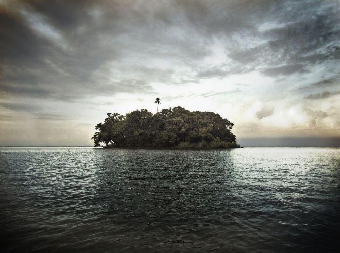 Volcanic Island in Nicaragua