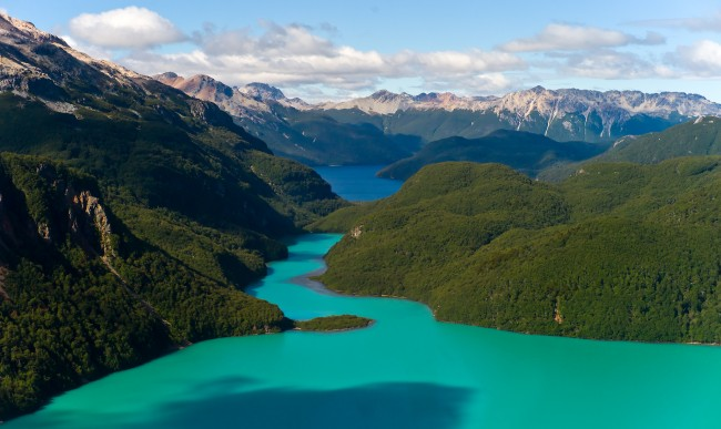 Lake Palena in Chile