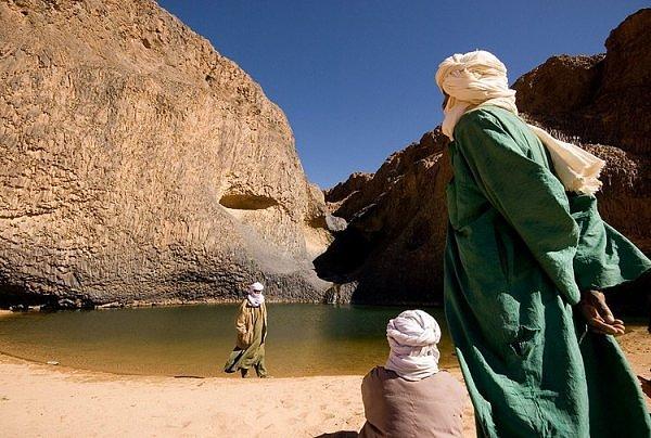 Oasis Timia Sahara Desert Niger