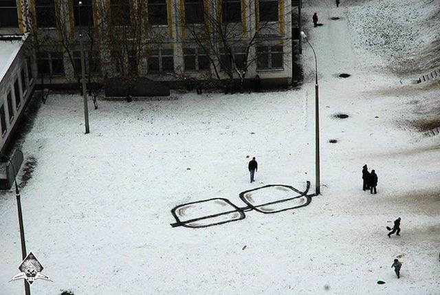 Pavel Puhov's Street Art