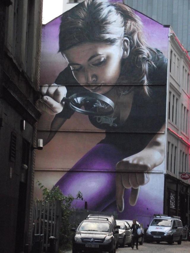 Giant Girl by SMUG - Scotland