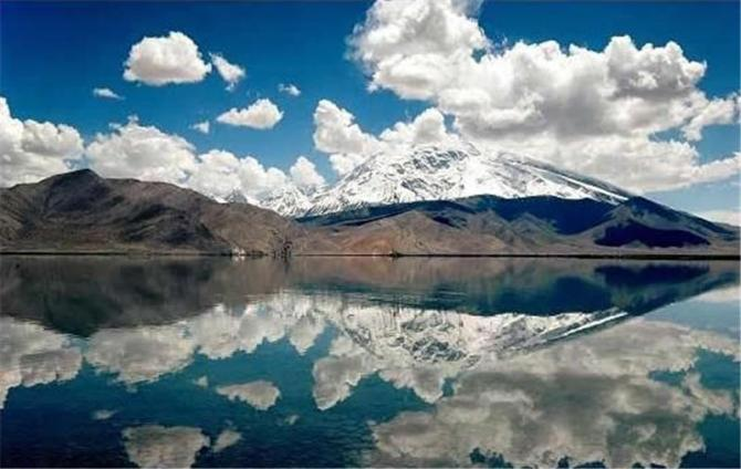 Karakul Lake in Asia