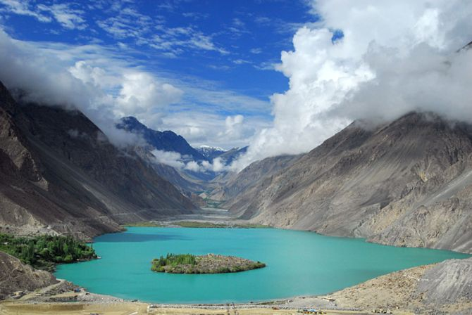 Satpara Lake in Asia