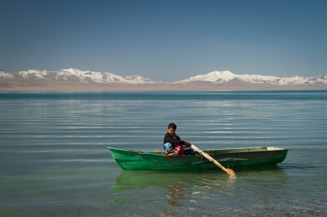 Song Kul Lake in Asia