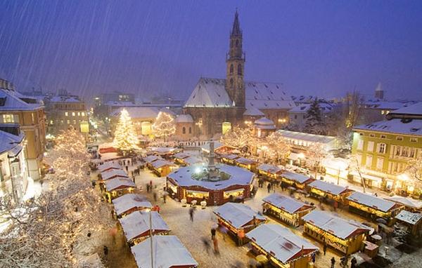 Christmas market in Bolzano - Italy