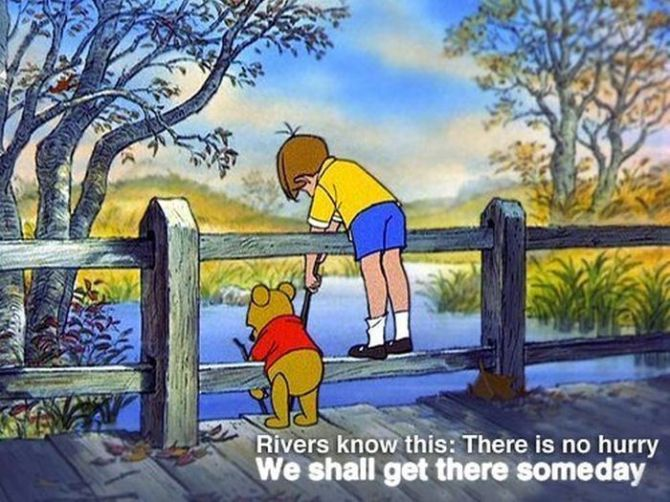 River know everything we don't know!