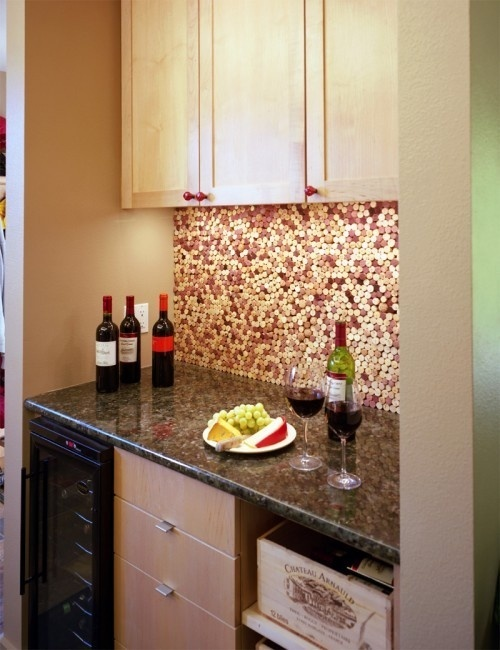 wine cork kitchen art for your walls