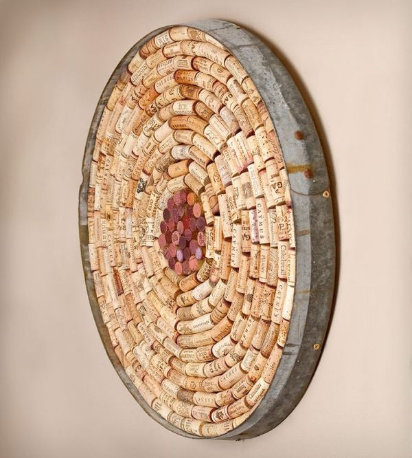Wine Cork DIY Round Board