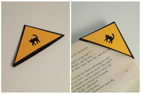 Cat Corner Bookmark