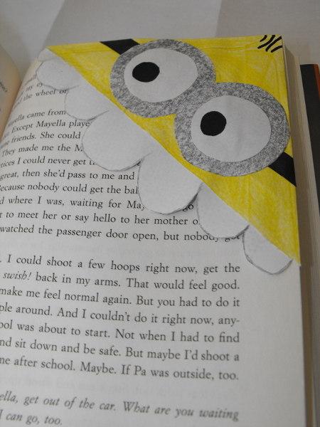 Minions Corner Bookmark