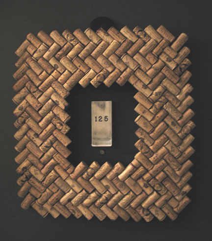 Easy DIY Wine Cork Front Door Craft