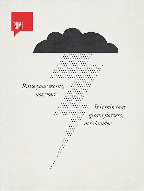 12 Famous Quotes Illustrated by The Graphic Designer Ryan ...