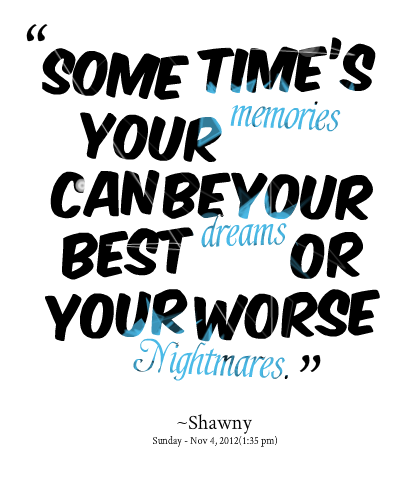 Worse Nightmares Quote