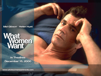 What Woman Want Poster