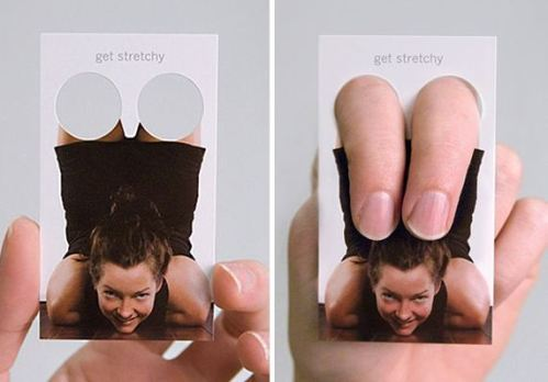 Yoga Stretching Business Card