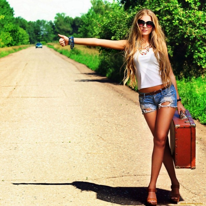 Sexy Hitchhiker