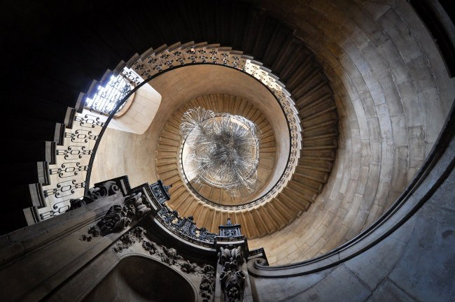 The Stairwell in St Paul's Cathedral