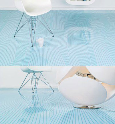 High Gloss Flooring Panels