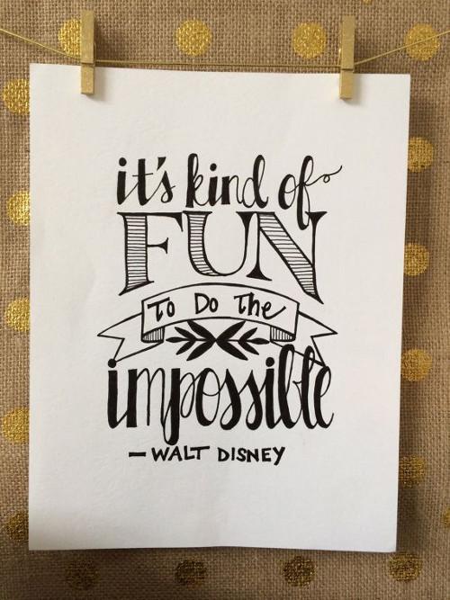 Walt Disney Quote Drawings