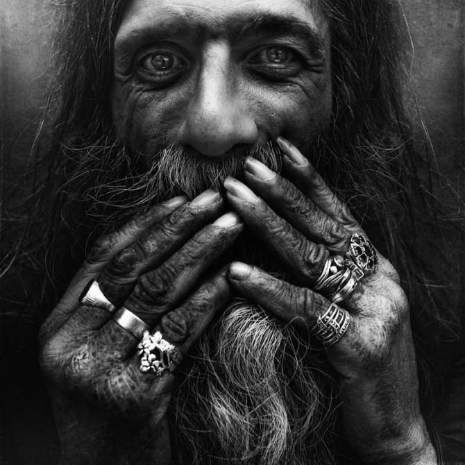 Homeless People Portraits Photography By Lee Jeffries: Best Black And White Portraits: Part 2