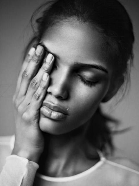 Chris Urena Black and White Portrait